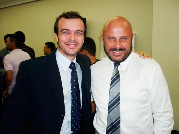 Pablo Teixeira e Randy Schroeder